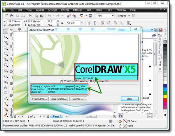 Phan mem thiet ke cong. CorelDRAW là một phần mềm biên tập đồ họa vector đ